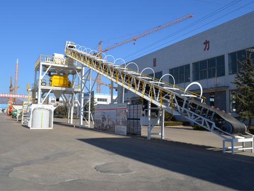 Mobile Concrete Batching plant Installation