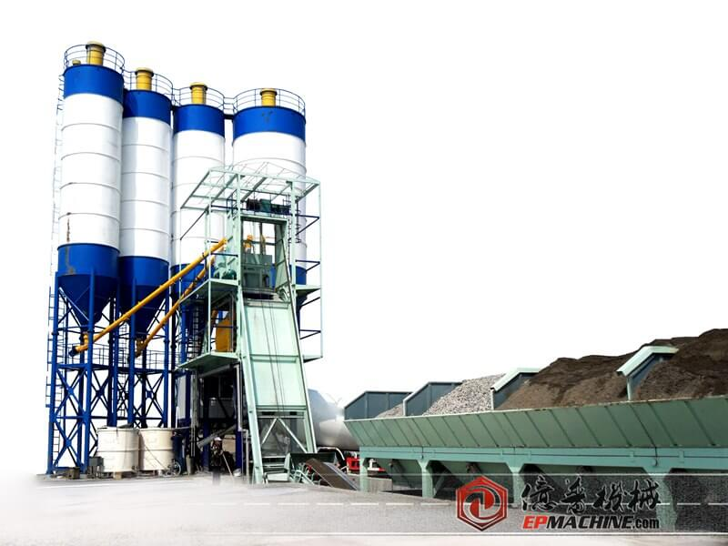 EP 35m3/hr Concrete Batching Plant