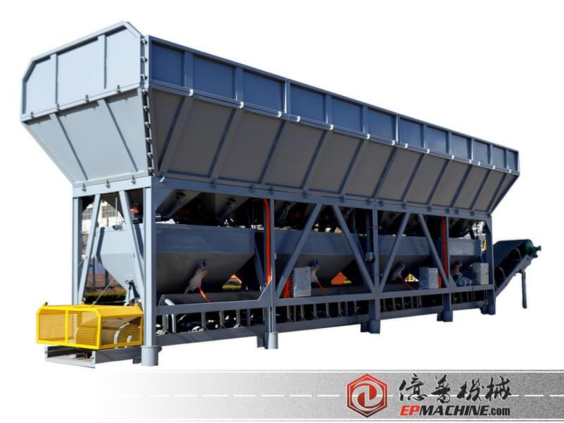 PLD Aggregate batching machine