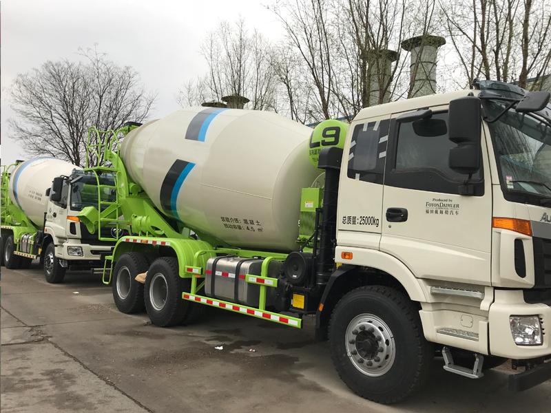 Foton Concrete Mixer Truck