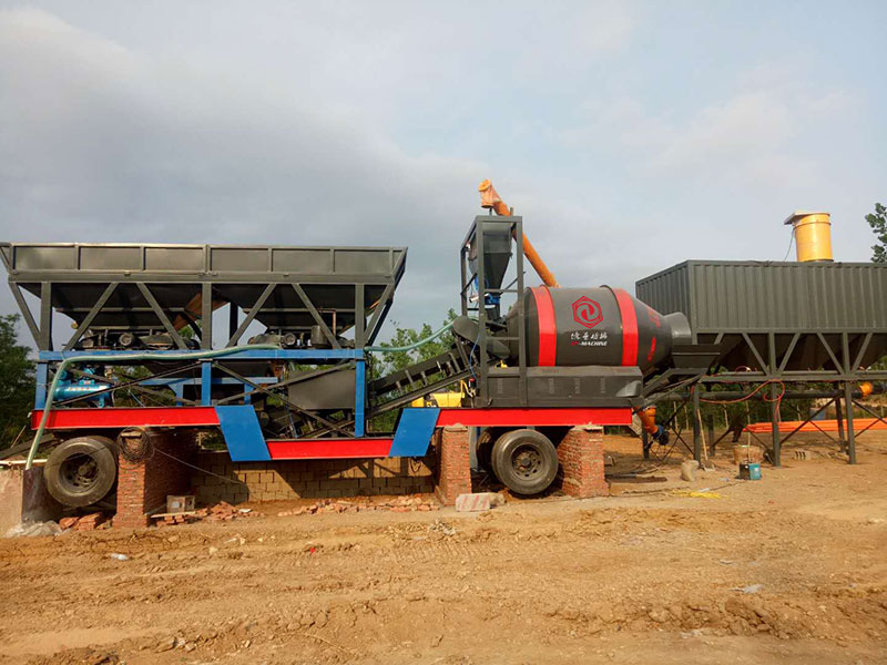 YHZM Mobile Batching Plant